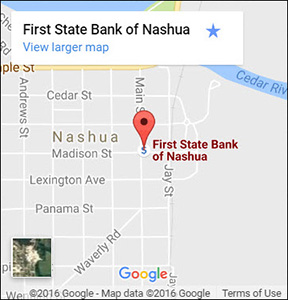 First State Bank Google Map